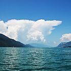 Cumulonimbus (Lac du Bourget) by heinrich