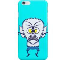 Scary Halloween Werewolf Emoticon iPhone Case/Skin