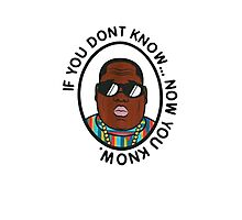 Biggie - Now you know Photographic Print