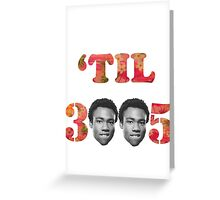 'Til 3005 Greeting Card