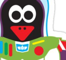 Hero/Icon Penguin - Buzz Lightyear Sticker
