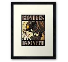 Bioshock infinite cool bird Framed Print