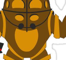 Bigdaddy welcome to rapture Bioshock Sticker