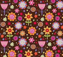 Floral colourful seamless pattern by smotrivnebo