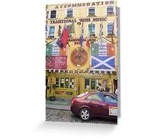 The Oliver St. John Gogarty, Dublin Greeting Card
