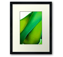 The green pear - body language. by Brown Sugar . F* . Views  1575 . Framed Print