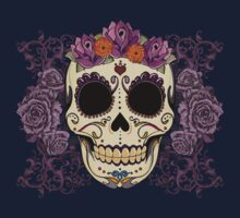Vintage Skull and Roses Kids Clothes