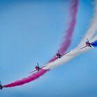 Red Arrows  by Darren Wilkes