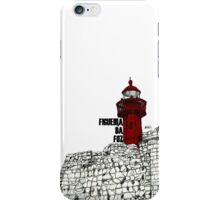Figueira da Foz - Red Lighthouse iPhone Case/Skin