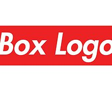 """""""Box Logo"""" T-shirt by TheMagicTractor"""