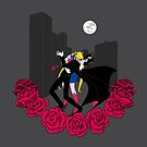 Kissing Sailor Moon by AriesNamarie