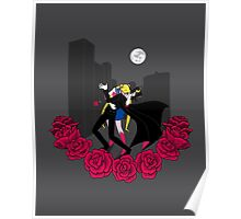 Kissing Sailor Moon Poster