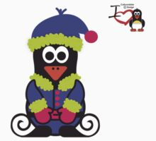 Christmas Penguin - Elf 02 by jimcwood