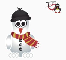 Christmas Penguin - Snowman by jimcwood