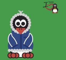 Christmas Penguin - Kid Kids Clothes