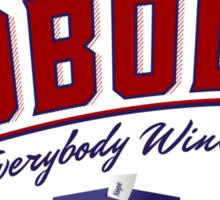 Vote Nobody Sticker
