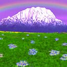Rainbow Mountain by Walter Colvin