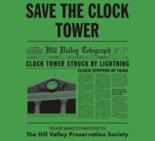 Back to the future - Save the clock tower by jorgebld