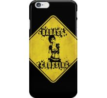 Lilith Badass Crossing (Worn Sign) iPhone Case/Skin