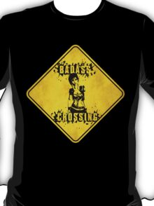 Lilith Badass Crossing (Worn Sign) T-Shirt