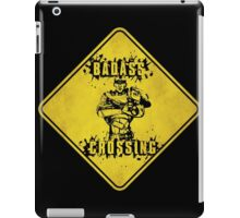 Roland Badass Crossing (Worn Sign) iPad Case/Skin