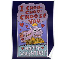The Simpsons: I choo choo choose you Poster