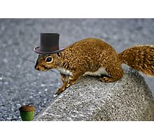 Iv Seen Nuts~ But This Is The Nut 4 Me  Photographic Print