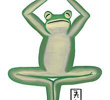 Frog Zenimal by Allyson Hicks
