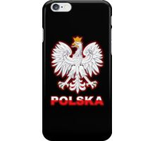 Polska - Polish Coat of Arms - White Eagle iPhone Case/Skin