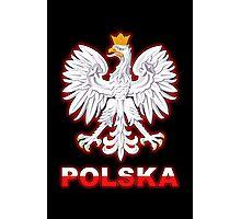 Polska - Polish Coat of Arms - White Eagle Photographic Print