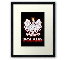 Poland - Polish Coat of Arms - White Eagle Framed Print