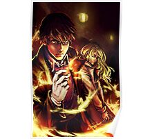 Oh Snap! The Fire Alchemist Poster