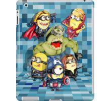 Cute caricature parody comics superheroes Group iPad Case/Skin