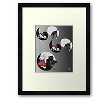 Famous Cats_ Unite Framed Print