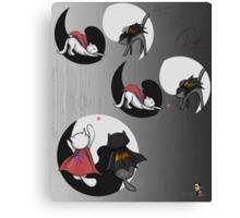 Famous Cats_ Unite Canvas Print
