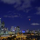 Lunar Eclipse - Perth Western Australia  by EOS20