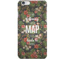 Maroon 5 - Maps iPhone Case/Skin