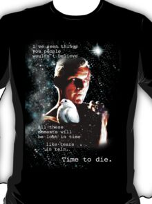Blade Runner Time to Die T-Shirt
