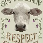 GO VEGAN - RESPECT FOR LIFE by fuxart