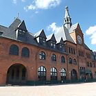 Central Railroad of New Jersey Terminal, Built 1889, Liberty State Park, New Jersey by lenspiro