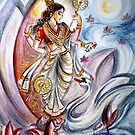 Saraswati by Harsh  Malik
