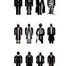 Timelord recognition guide - 12 Doctors by mime666