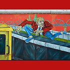 East Side Gallery in Berlin by fuxart