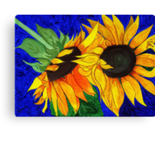 Sunflower Sister 2nd part Canvas Print