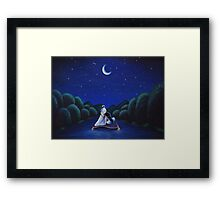 Whole new world Framed Print