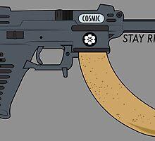 COSMIC NANA GUN  by Charles  Perry
