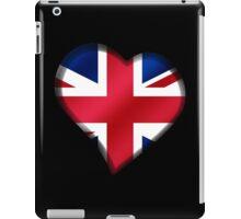 British Union Jack Flag - United Kingdom UK - Heart iPad Case/Skin