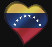Venezuelan Flag - Venezuela - Heart Kids Clothes
