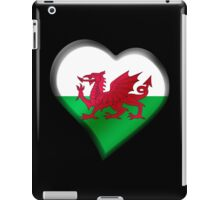 Welsh Flag - Wales - Heart iPad Case/Skin