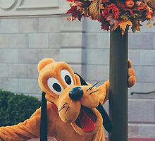 pluto on main street. by dkelly1126